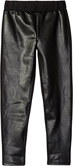 Faux Leather Leggings (Big Kids)