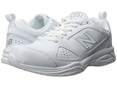 New Balance WX623v3 (White/Silver) Women