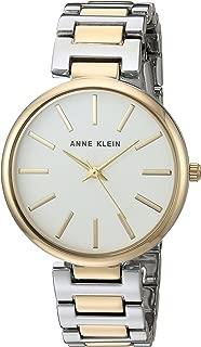 Anne Klein AK/2787SVTT reloj de pulsera bicolor para mujer