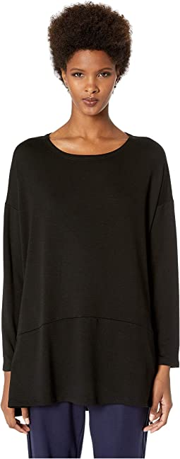 Ballet Neck Oversized Tunic