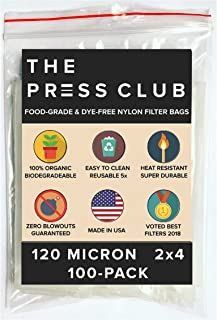 120 Micron   Premium Nylon Tea Filter Press Screen Bags   2