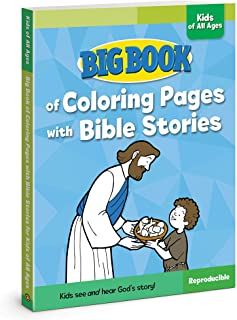 Big Book of Coloring Pages with Bible Stories for Kids of All Ages (Big Books)