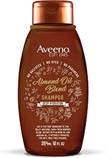 Aveeno Scalp Soothing Oil Blend Shampoo, Almond 12 Fl Oz