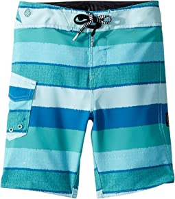Magnetic Liney Mod Boardshorts (Toddler/Little Kids)