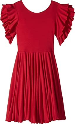 fiveloaves twofish Amelia Stretch Fit & Flare Dress (Big Kids)