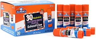 Elmer's Disappearing Purple School Glue Sticks, 0.24 Ounces Each, 30-Count Class Pack (E555)