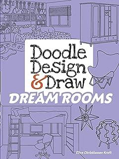 Doodle Design & Draw DREAM ROOMS (Dover Doodle Books)