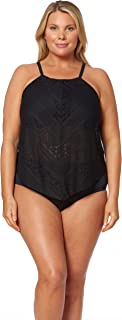 plus size crochet swimwear