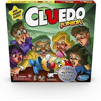 Cluedo Junior - Jeu de societe - Jeu de plateau - Version française