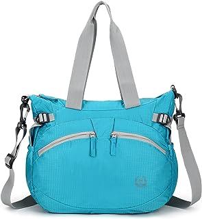 forestfish Lightweight Gym Tote Bag Waterproof Sports Handbag Shoulder Bag for Women Girls
