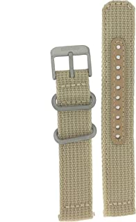 Original Nylon Beige Watch Band 18 millimeters- Model SNK805