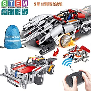 STEM Building Toys, Remote Control Racer Learning Kits 326 Pcs for 7, 8 and 9 Year Old Boys and Girls, Top Birthday Gift Ideas for Kids Age 7-14