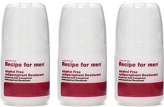 Recipe For Men Deodorant 3 Pack