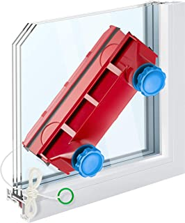 Tyroler Bright Tools Magnetic Window Cleaner The Glider D-3 AFC Indoor and Outdoor Glass Pane Cleaning | Single or Double ...