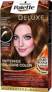 Schwarzkopf Palette Deluxe Oil Care Color 8-554 Dark Honey Blonde