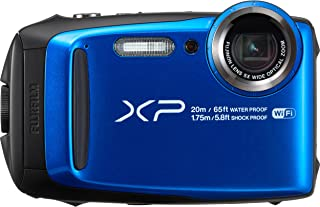 Fujifilm - FinePix XP120 (Blue) 16.4-Megapixel Waterproof Digital Camera