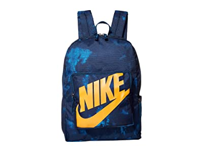 Nike Kids Classic All Over Print Backpack (Little Kids/Big Kids) (Blue Force/Blue Force/Bright Ceramic) Backpack Bags