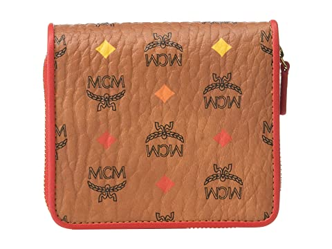 MCM Spektrum Visetos Zipped Wallet Mini