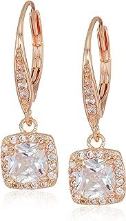 Best pearl drop earrings rose gold Reviews