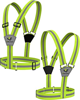Flectson™ Reflective Vest/Belt Provides 360 Degree High Visibility for your Safety Outdoors: Running, Biking, Jogging etc.