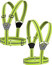 Flectson™ Reflective Vest/Belt Provides 360 Degree High Visibility for your Safety Outdoors: Running, Biking, Jogging etc.