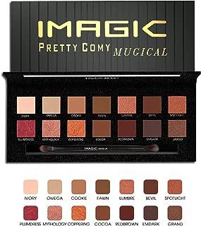 Eyeshadow Palette, Pretty Comy 14 Colors Eye Shadow Powder Lasting Eye Makeup Cosmetics Christmas Gift