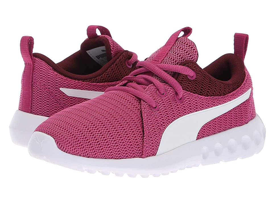 Puma Kids Carson 2 (Little Kid/Big Kid) (Magenta Haze/Fig/Puma White) Girls Shoes
