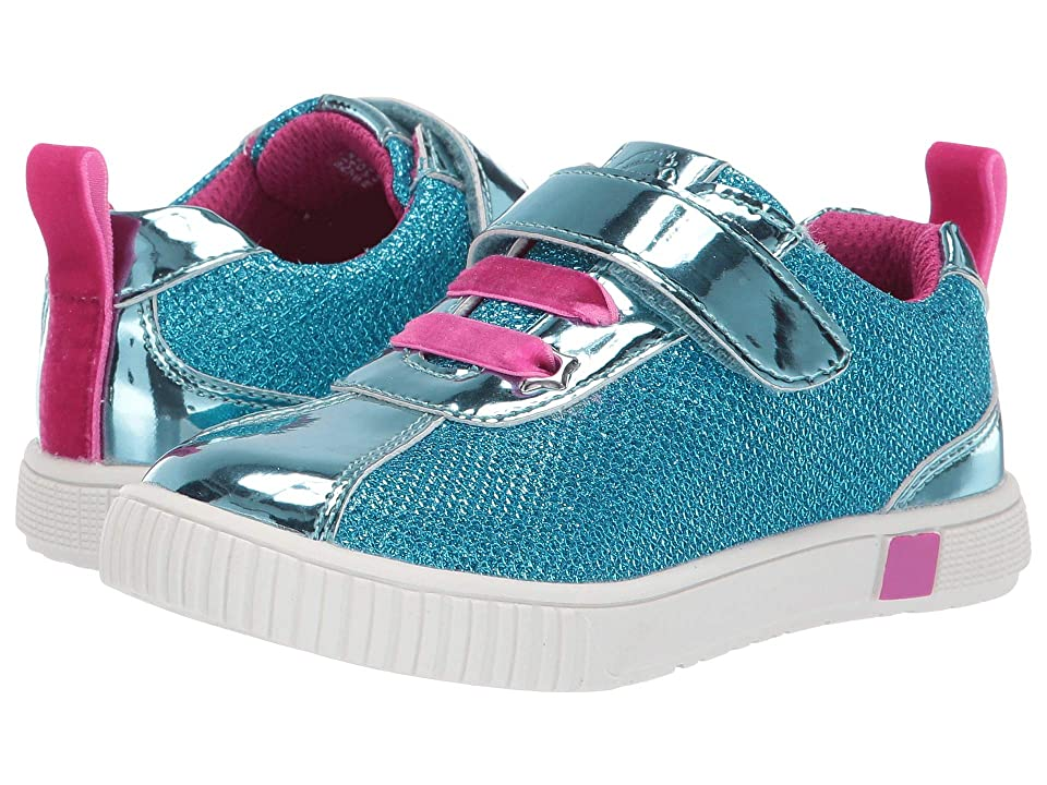 Livie & Luca Spin (Toddler/Little Kid) (Aqua Metallic) Girl