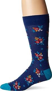 Men's Conversation Starter Novelty Casual Crew Socks