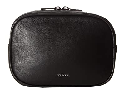 STATE Bags Crosby Fanny Pack (Black) Backpack Bags