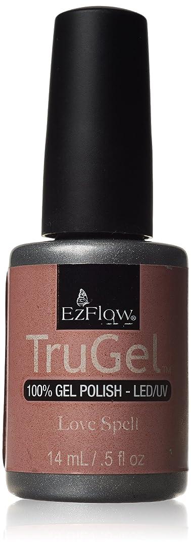 楽観的不安環境に優しいEzFlow トゥルージェル カラージェル EZ-42449 ラブスペル 14ml