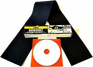 Cabrio Reparatur Set Repair Kit passend für Chrysler Verdecke aus original Cabriolet Verdeckstoff für Risse, Schnitte, Löcher, Abschürfungen usw. für Stoffverdecke