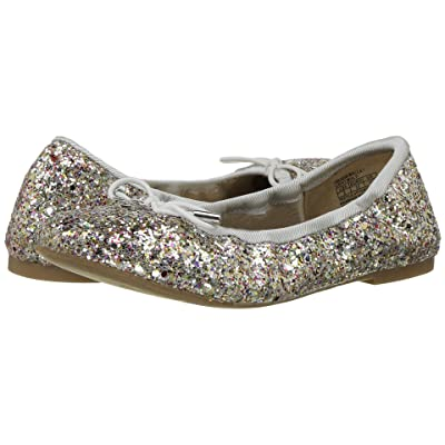 Sam Edelman Kids Felicia Ballet (Little Kid/Big Kid) (Silver Multi) Girls Shoes
