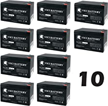 VICI Battery 12V 9Ah SLA Battery Replacement for Tripplite SMART3000RM2U - 10 Pack Brand Product