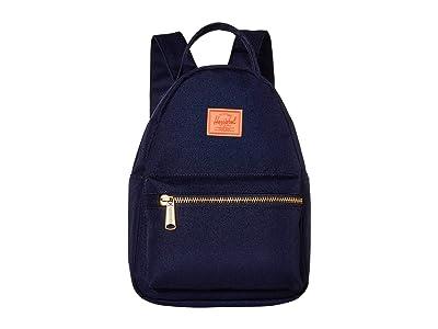 Herschel Supply Co. Nova Mini (Peacoat/Hot Coral) Backpack Bags