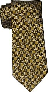 versace tie black