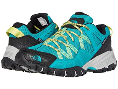 The North Face Ultra 111 Waterproof (Jaiden Green/TNF Black) Women