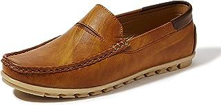 Centrino Men 7104 Tan Loafers