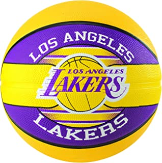 Spalding NBA Team La Lakers Basketball, Size 7, Multicolour
