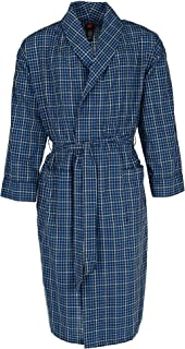 Hanes Men's Lightweight Woven Broadcloth Robe