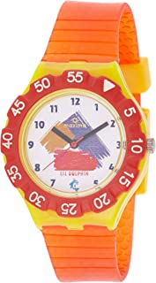 Maxima Analog White Dial Children's Watch - 04468PPKW