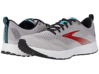 Brooks Revel 4 (Grey/Black/Capri) Men
