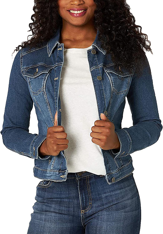Cardigan Sweaters Women's Coat New Long Sleeve Button Open Front Long Cardigan Cowboy Outerwear