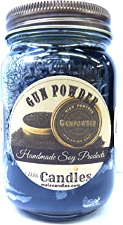 Gun Powder 16oz Country Jar Handmade Soy Candle