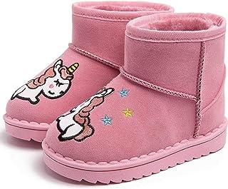 Minotta Boys Girls Waterproof Microfiber Leather Soft Warm Snow Boots Toddler//Little Kid