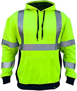 SS360 ANSI Class 3 Safety Hoodie Yellow (Safety Green)