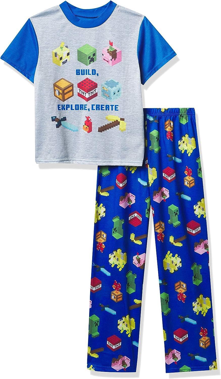 Minecraft Boys' Pajama Set