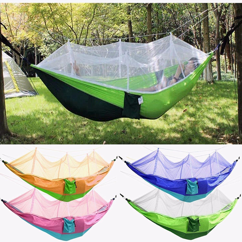 Bazaar Bazaar Bazaar Außenmoskitonetz Doppelhängematte Hängen Swing Beds Parachute Nylon Für Camping Reisen B01MUMZGUB  Verkaufspreis 5269ae