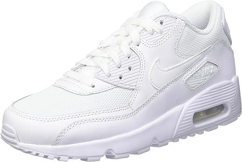 Nike Air Max 90 Mesh (Gs) Scarpe da Ginnastica, Bambino