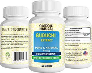 Oladole Natural Guduchi Dietary Supplement 500 mg - Supports Cellular Defense - Promotes Stress and Anxiety Relief Made wi...